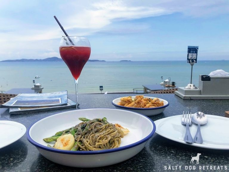 seafood restaurant view pattaya